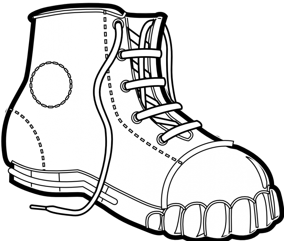 Old Boots Drawing at GetDrawings