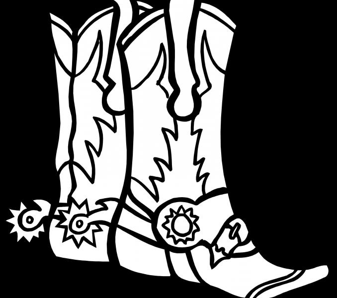 Cowboy clipart boot mexican. Drawing at getdrawings com