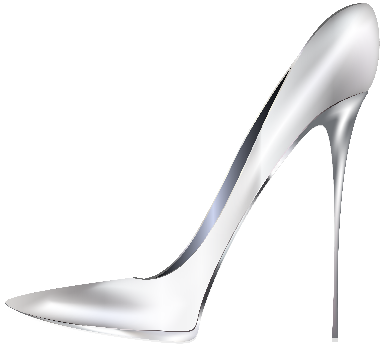White high png clip. Heels clipart stilettos