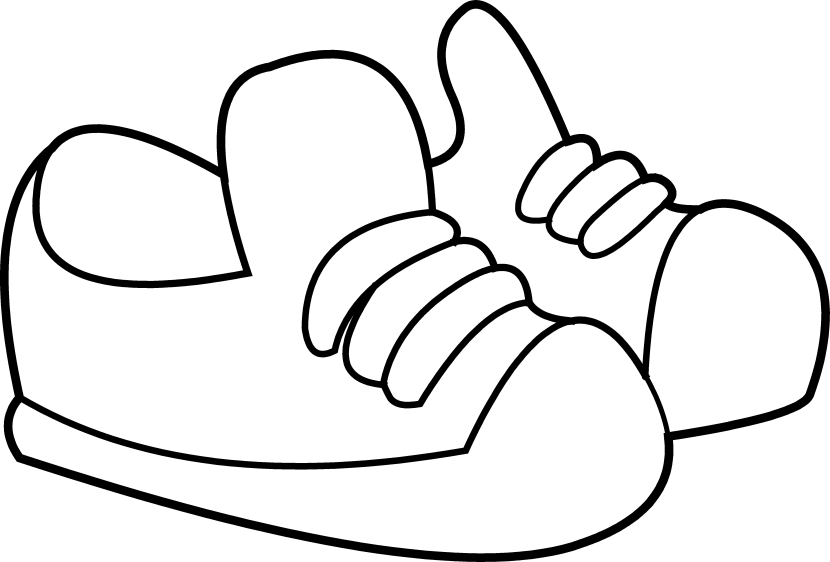 Heels clipart drawing. Track shoe image