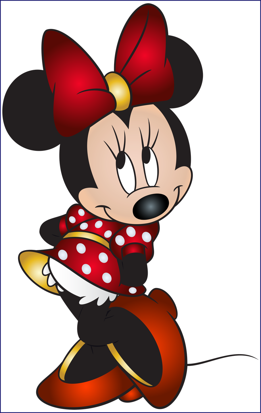 Fascinating png clip art. Heels clipart minnie mouse