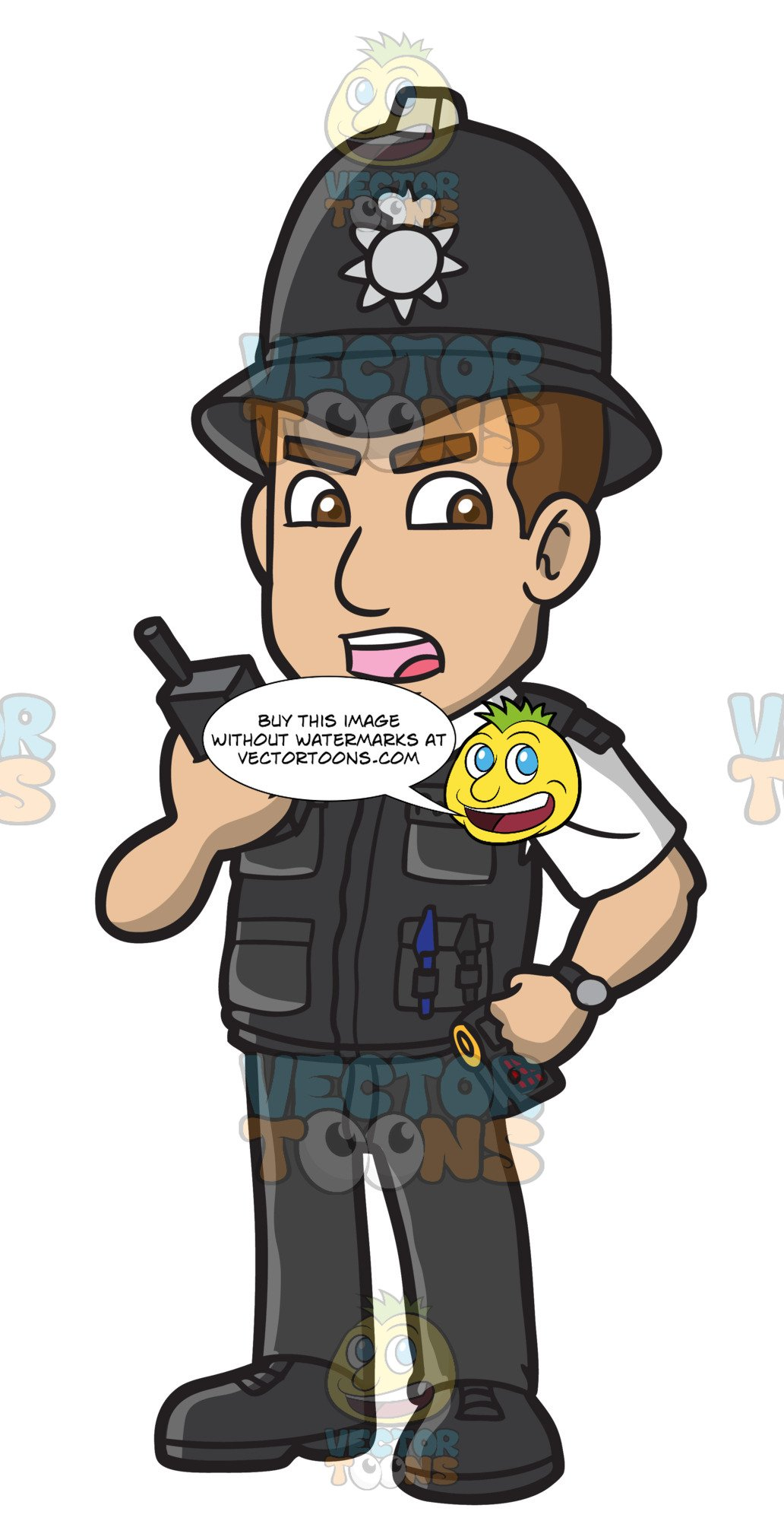 Policeman clipart policeman british. A police constable