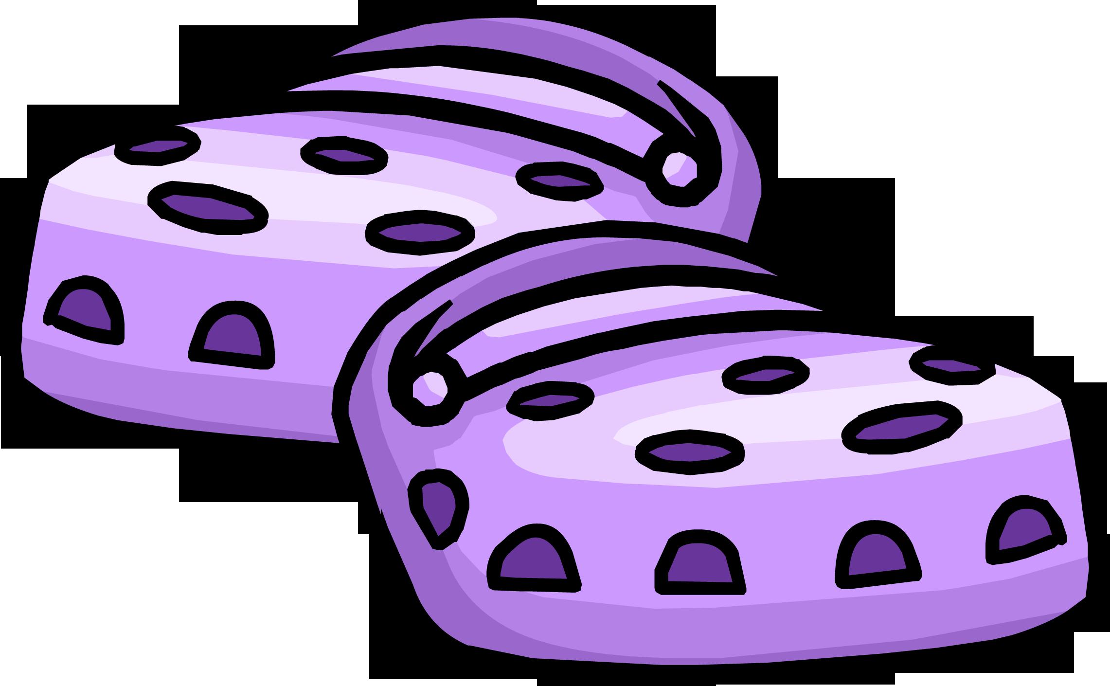 Cuckoo ka shoes club. Purple clipart crocodile
