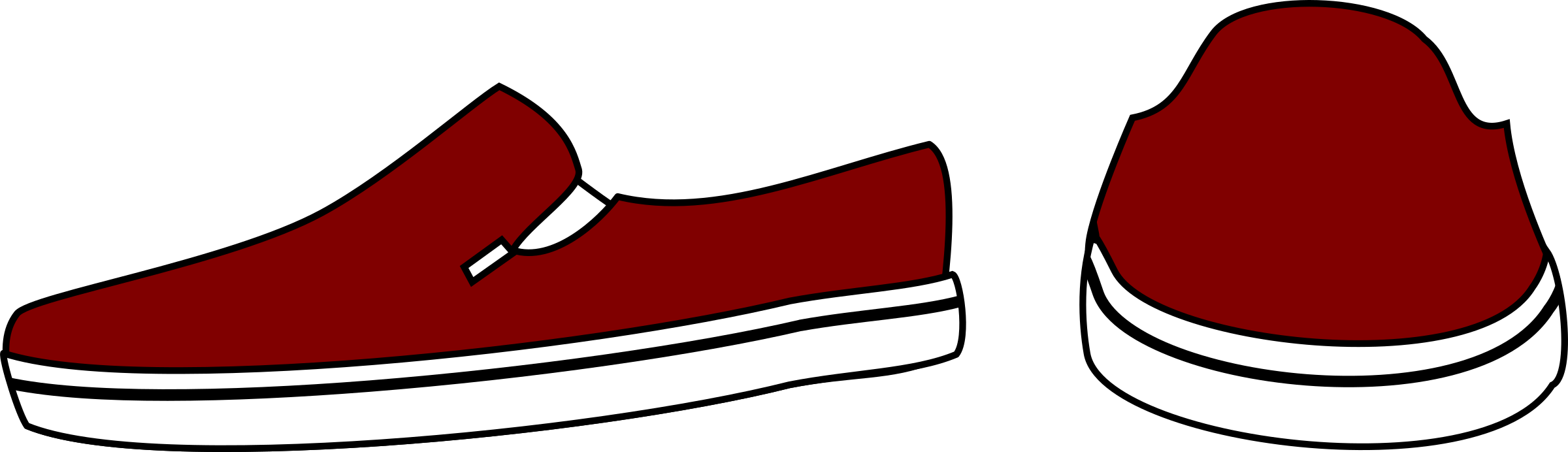 Slip on shoes big. Wet clipart slips trip