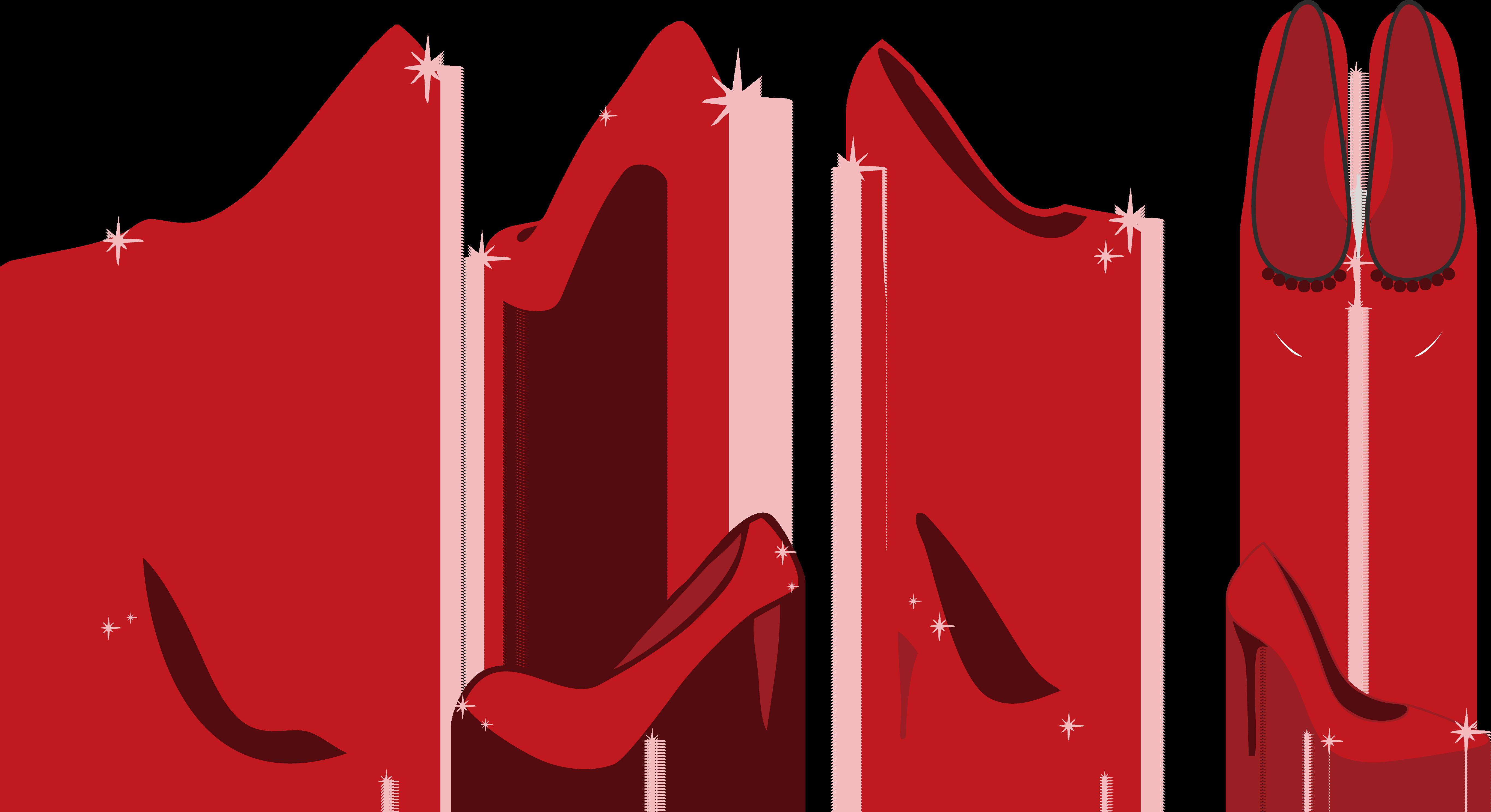 High heel shoe at. Heels clipart monster