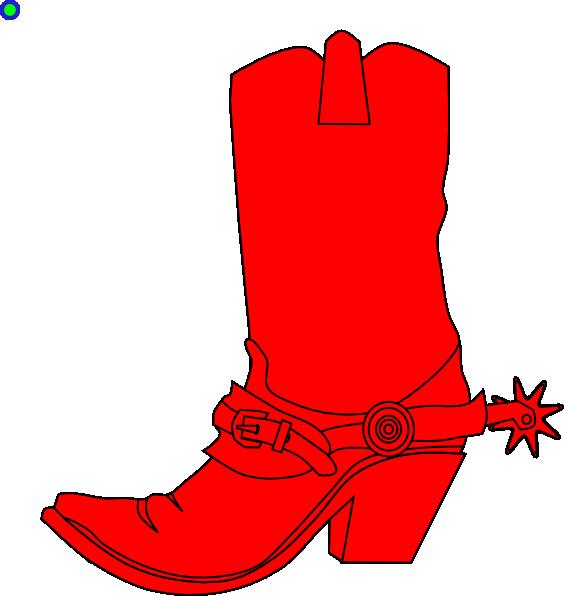 Cowgirl clipart clip art. Boot at clker com