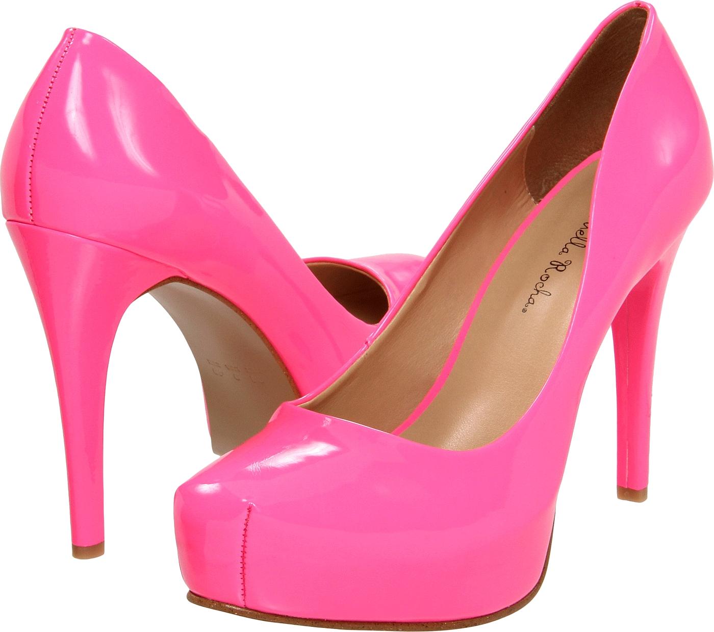 Pink women shoe png. Heels clipart lady footwear