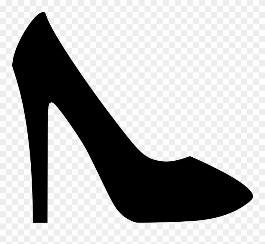 Heels clipart footware. Shoes sandal footwear fashion