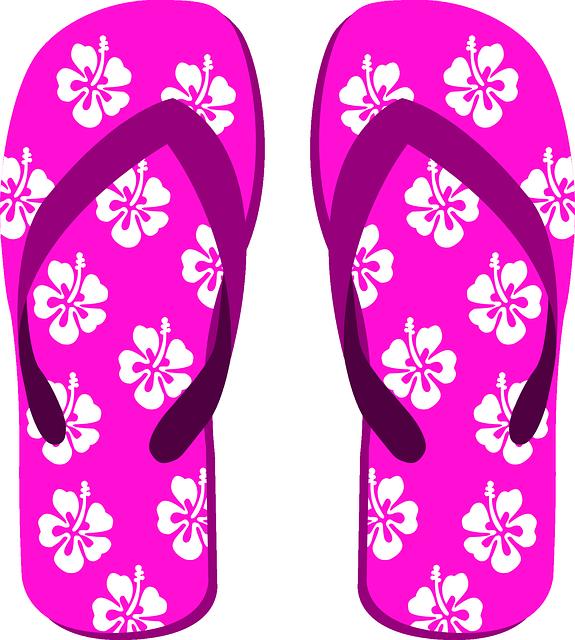 Free image on pixabay. Hawaiian clipart flip flop