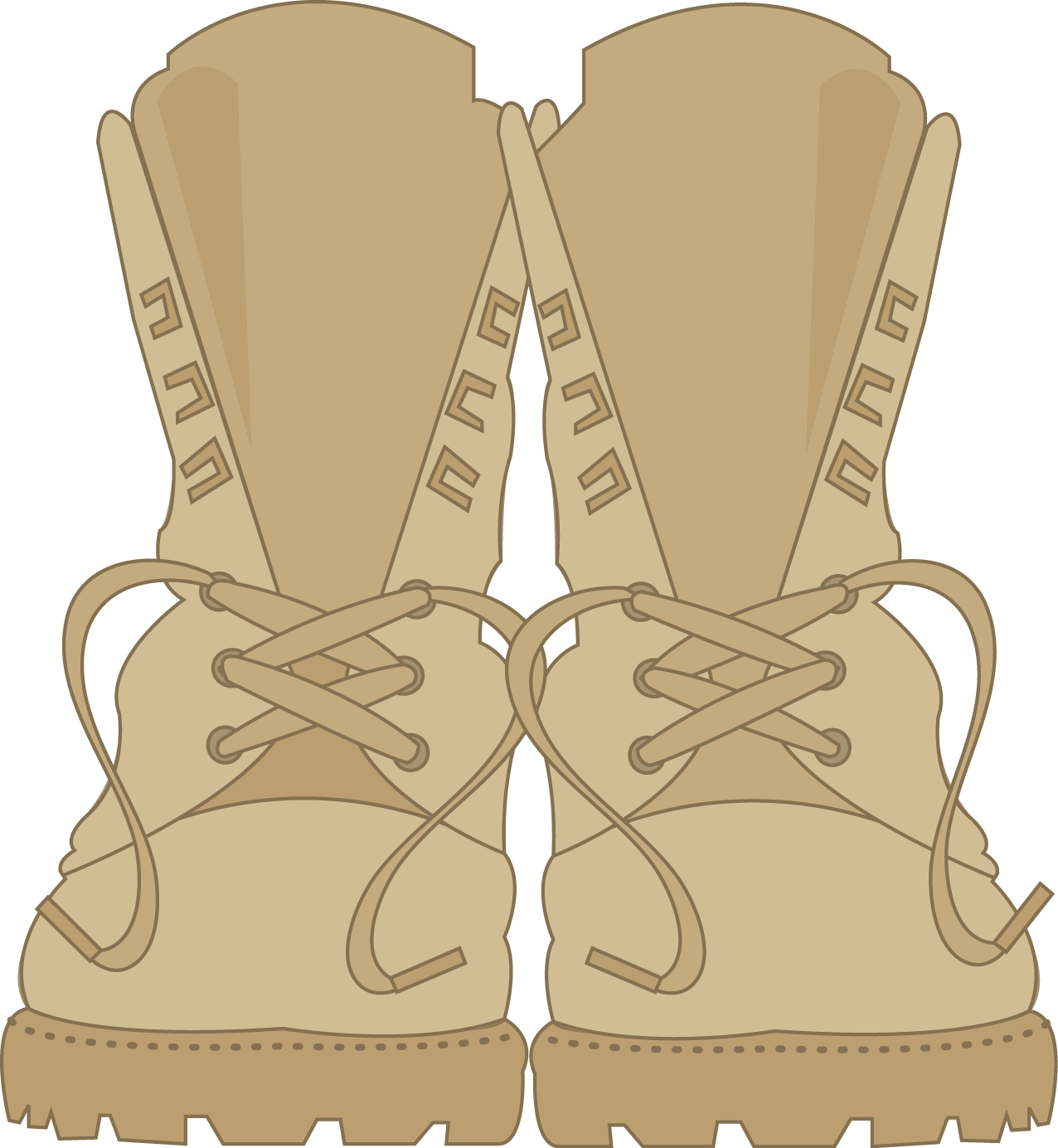 collection of combat. Soldiers clipart shoe
