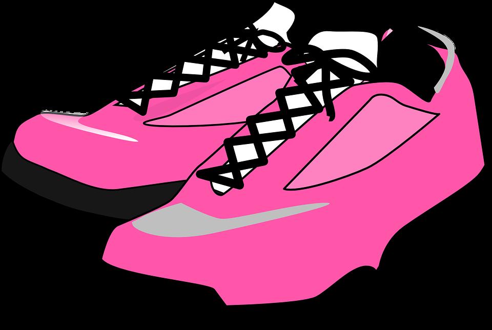 Foot clipart vector. Track shoe tied pencil