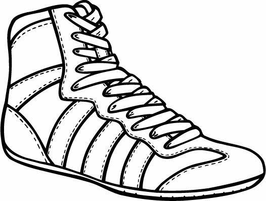 Shoes banquet centerpieces . Wrestlers clipart wrestling shoe