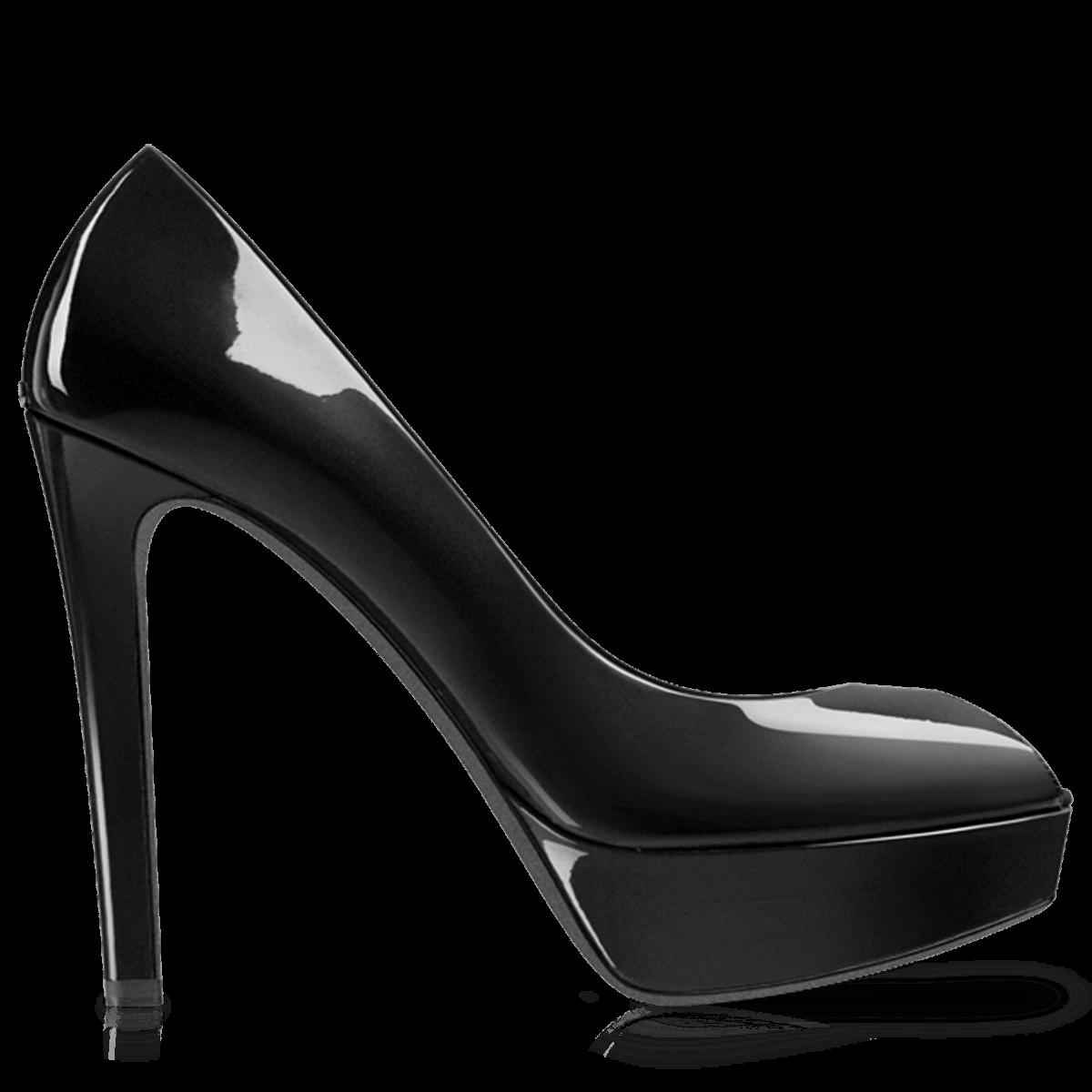 Heels clipart pair heel. Black women shoe transparent