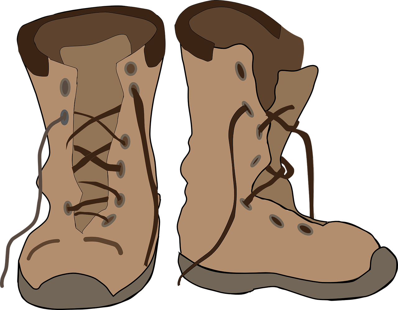 Animated shoes walking clip. Learning clipart principled