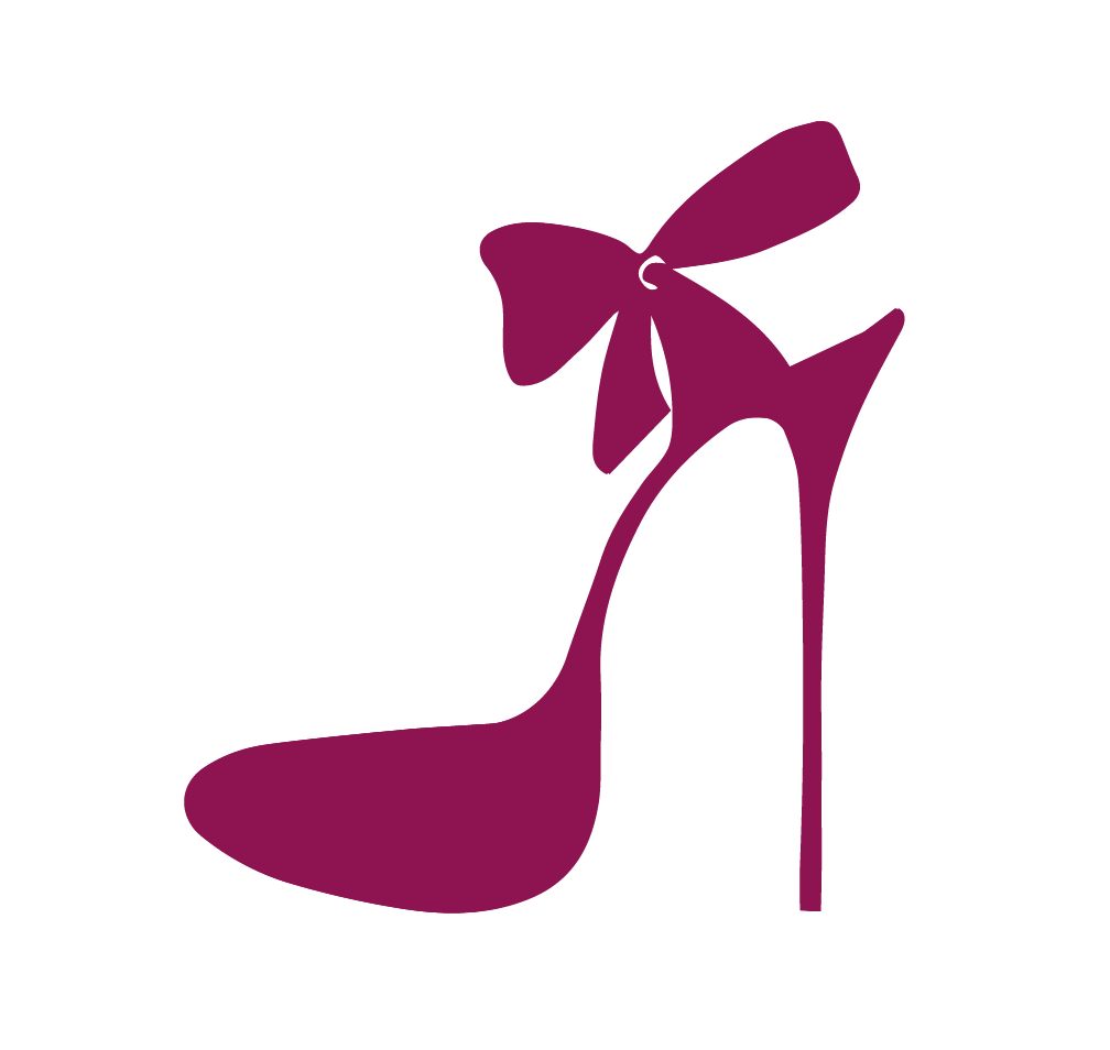 Pink clipart stilettos. Stiletto silhouette at getdrawings