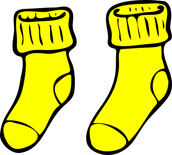 Yellow brick road at. Witch clipart sock