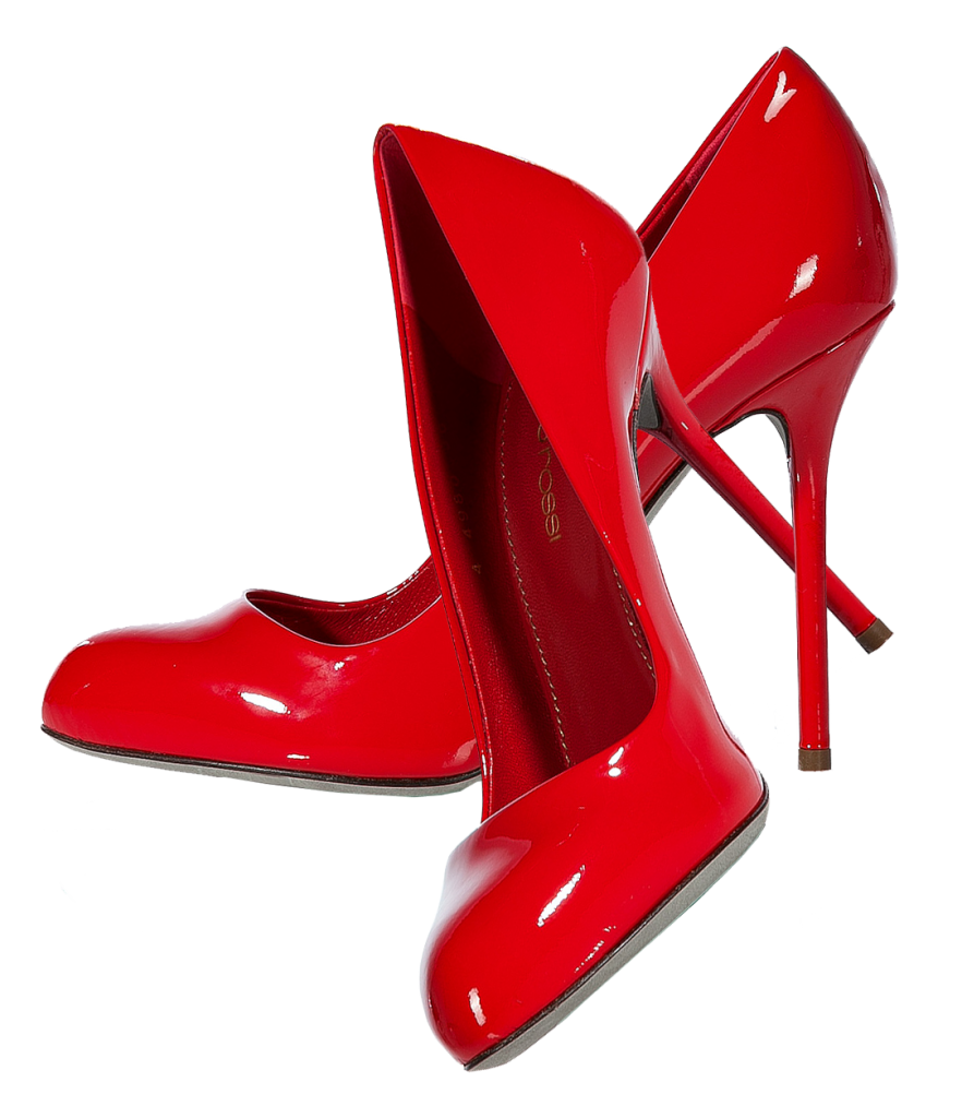 Foot clipart red. Women shoe png image