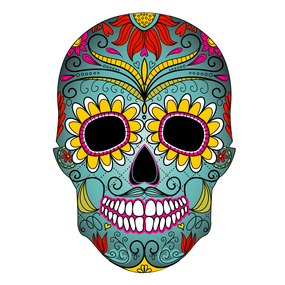 The fine art of. Dead clipart skull drawing