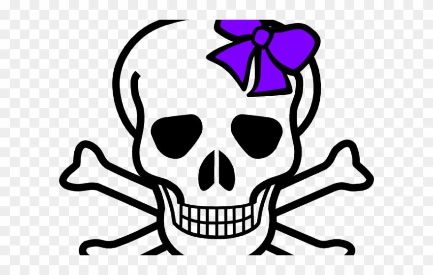 Clipart skeleton bow. Head skull and crossbones