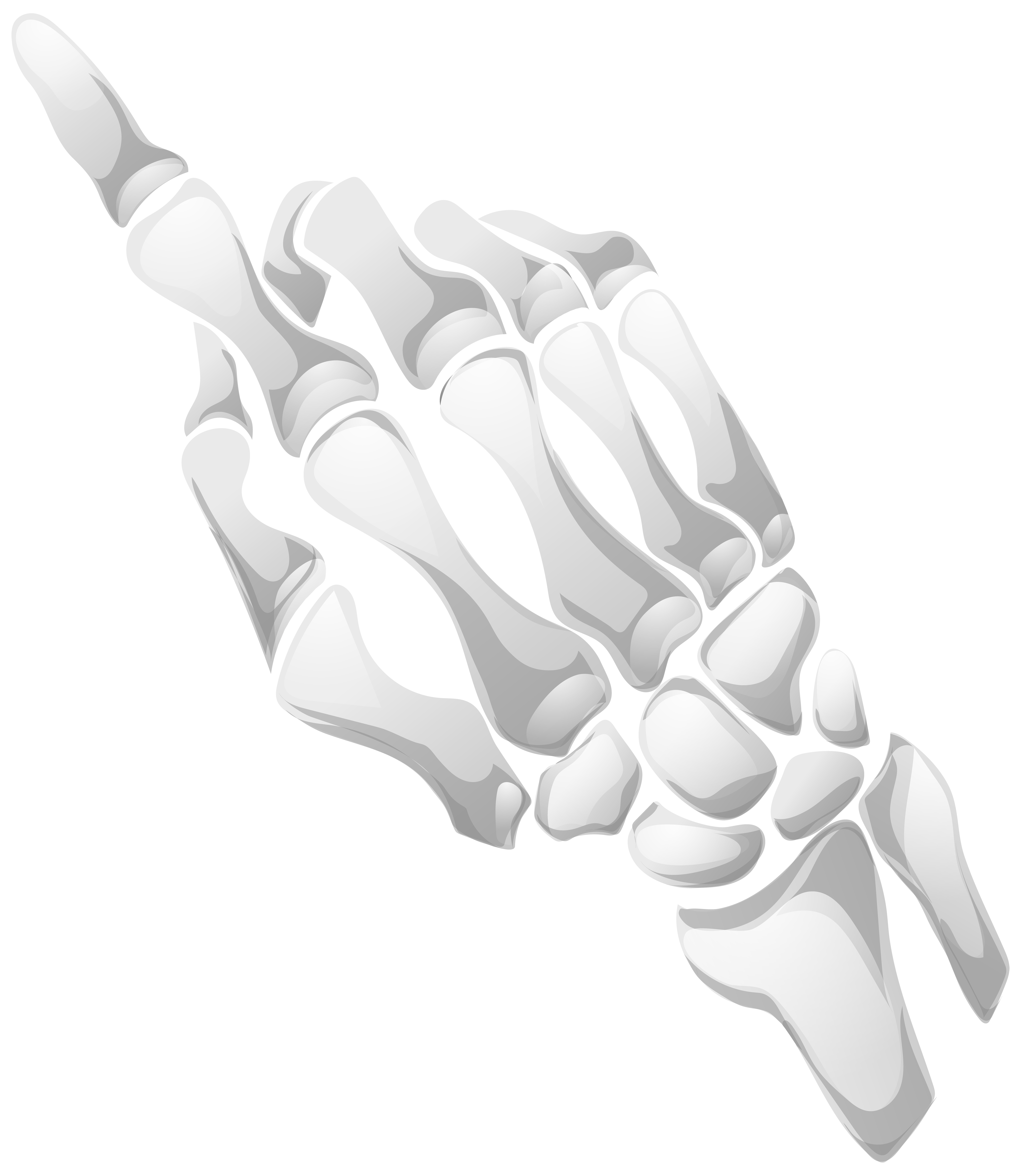 Hand png clip art. Clipart skeleton bow