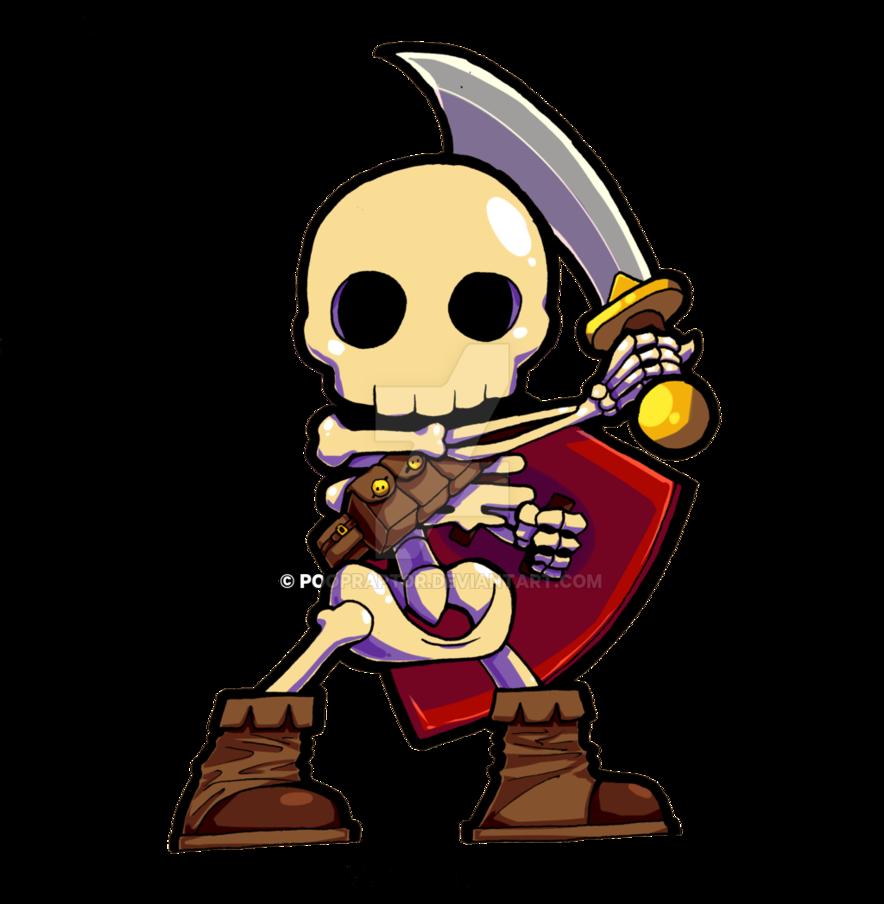 Warrior clipart enemy warrior. Skeleton by pooprapt r