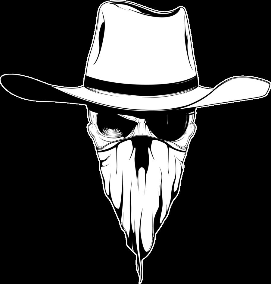 skeleton clipart cowboy #143054255