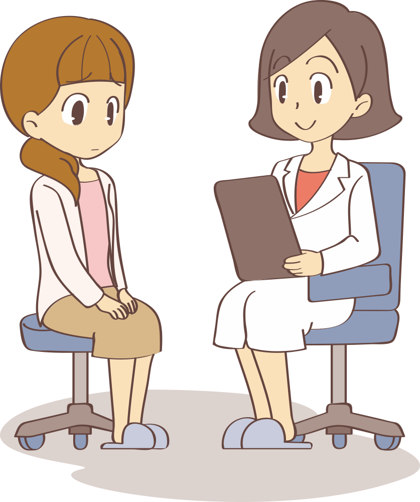 Patient clipart doctor consultation. Onlinelabels clip art medical