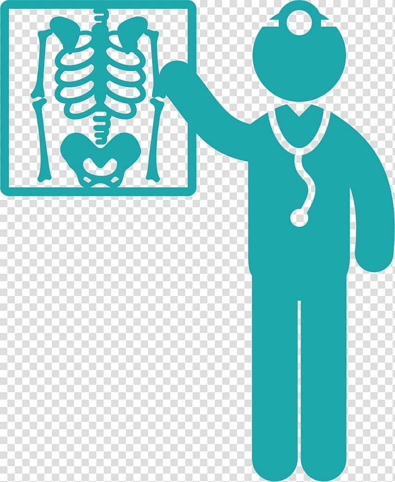 Clipart skeleton doctor. Green illustration x ray