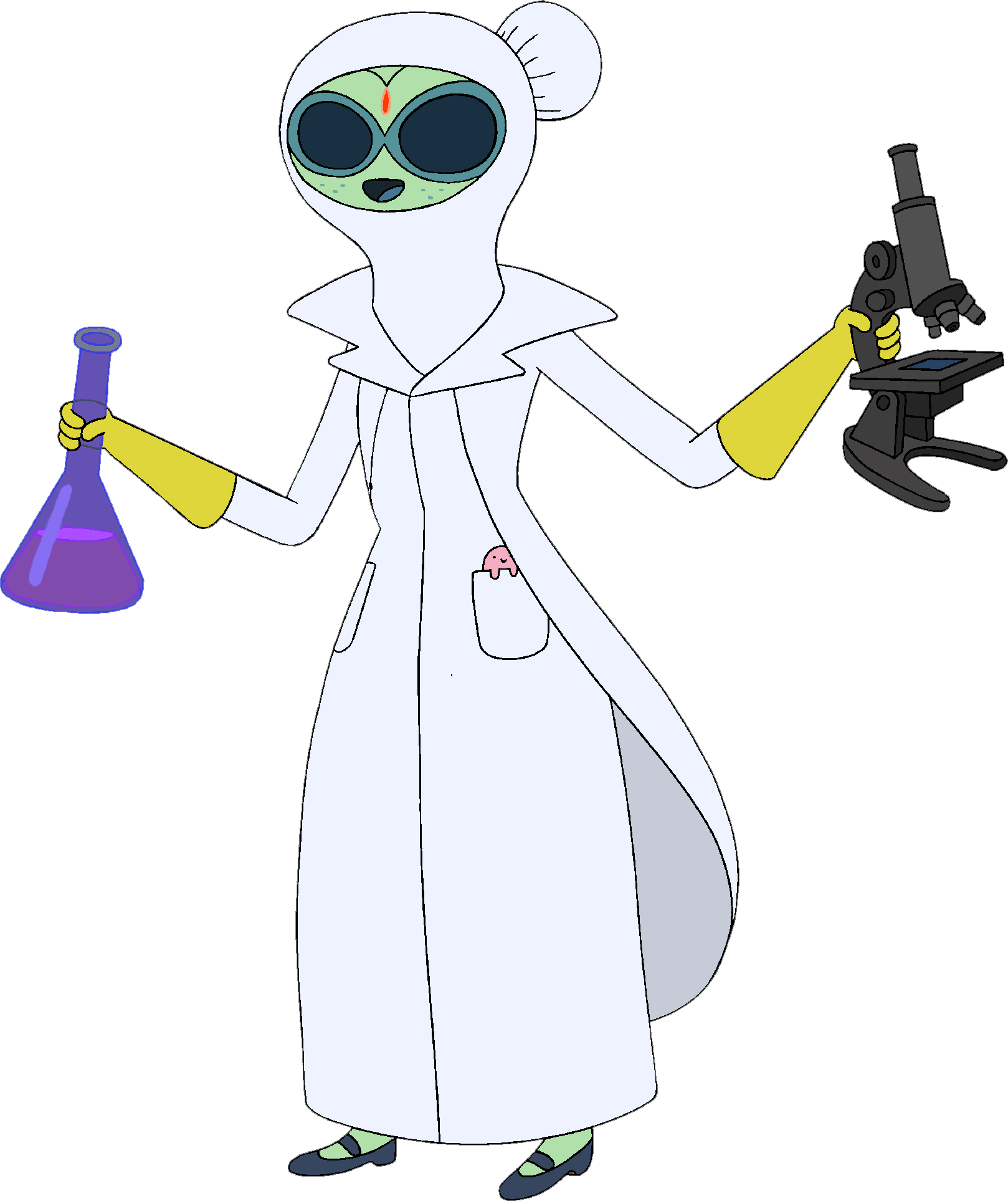 Doctors clipart scientist. Doctor princess adventure time