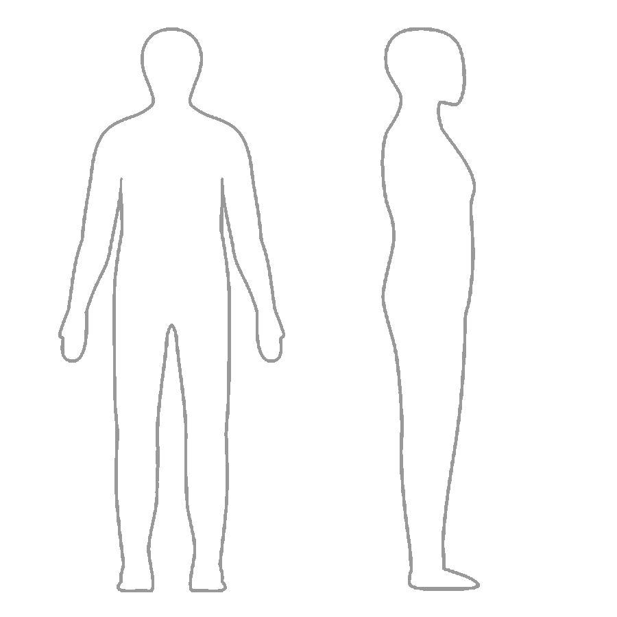 Human clipart blank body. Outline template datariouruguay