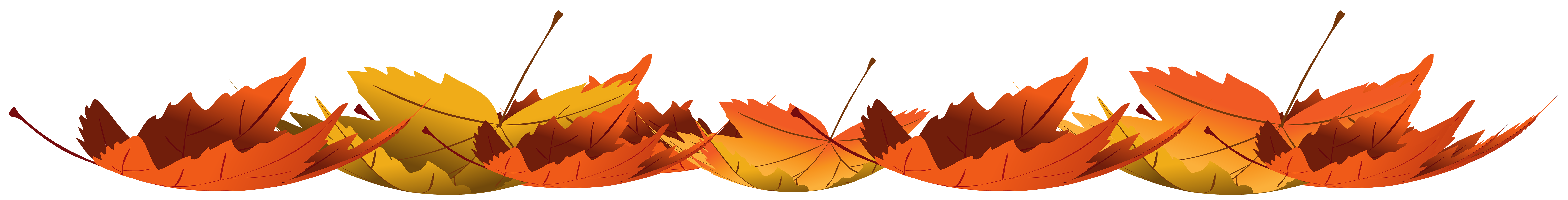 Excited clipart thankful. Fallen autumn leaves transparent