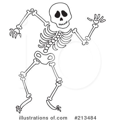 Dancing clip embroidery ideas. Clipart skeleton line art
