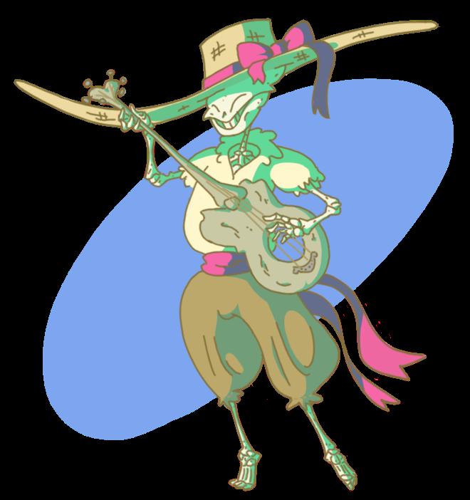 Skeleton clipart mariachi, Skeleton mariachi Transparent