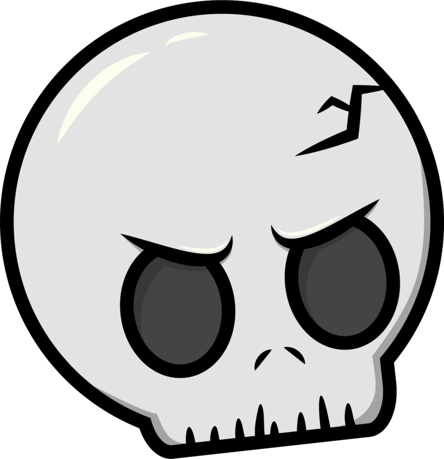 By robot panda on. Mouth clipart skull