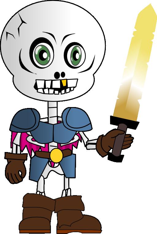 Fist clipart skeleton. Chibi i royalty free