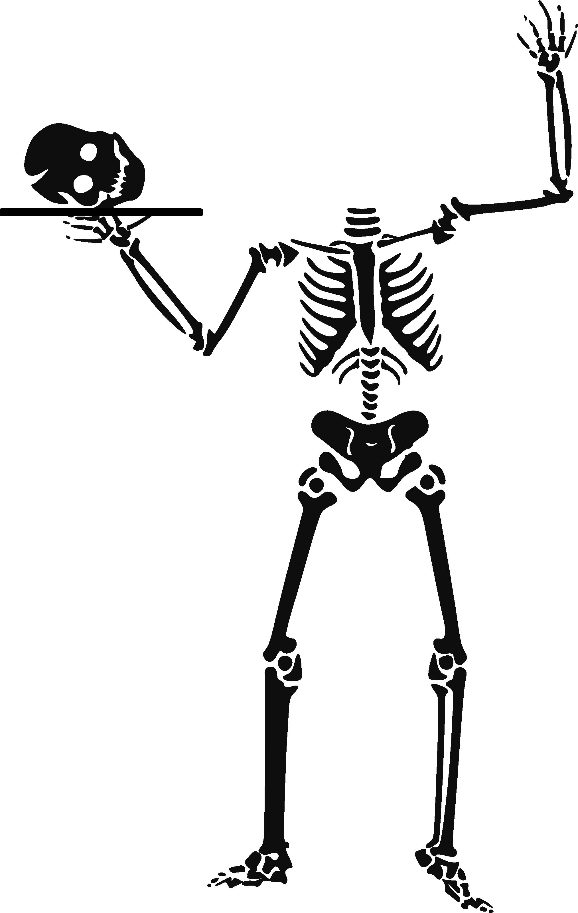 Skeleton clipart sideways. Humana clip art panda