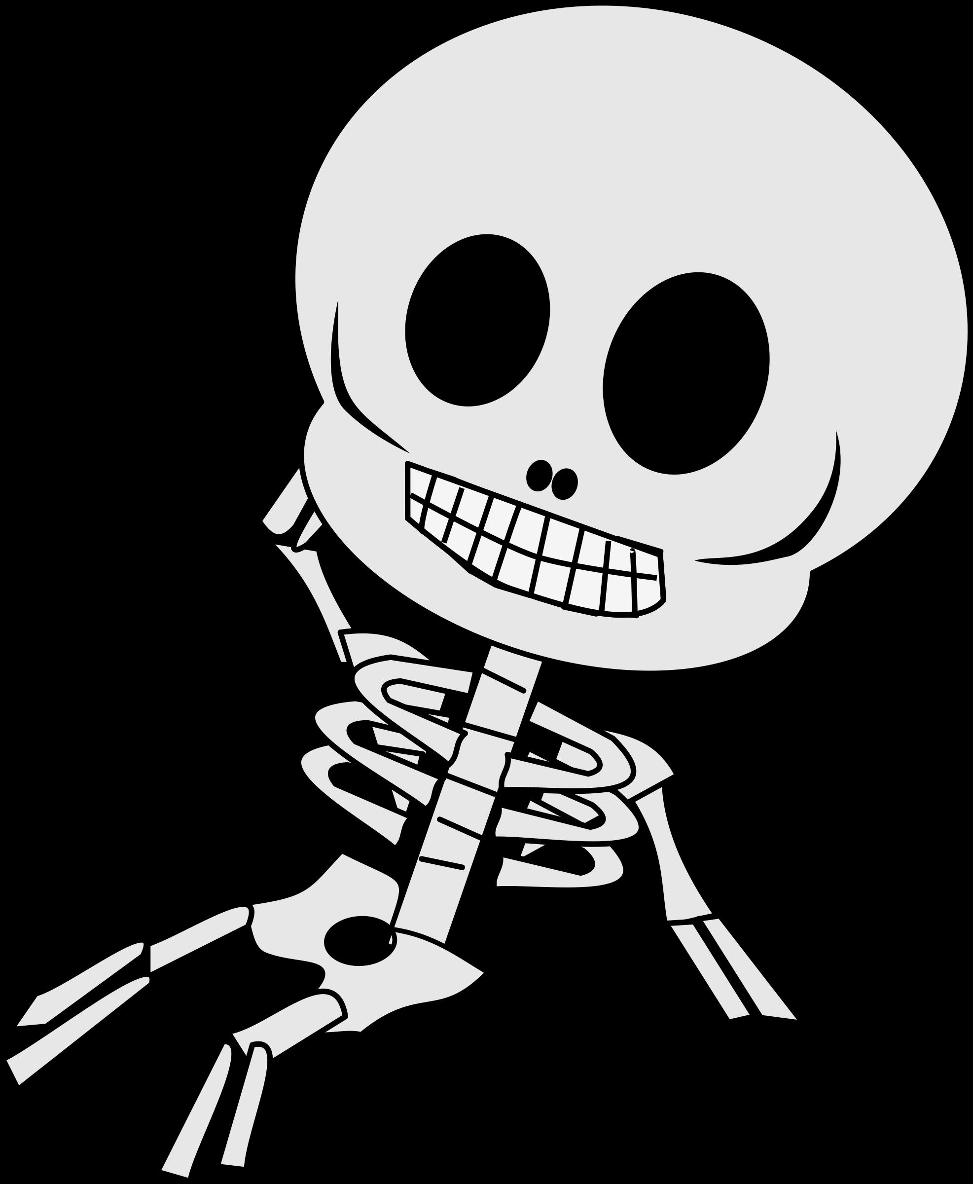 skeleton clipart love #143028948