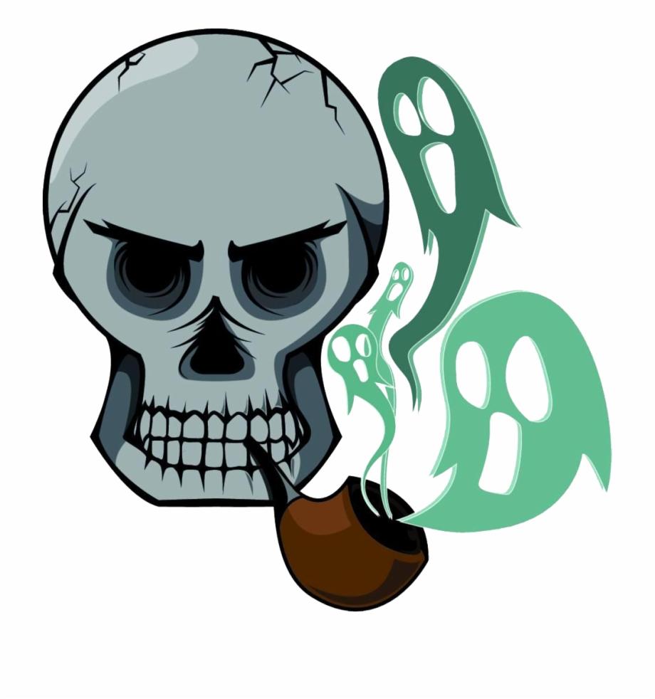 Cigarette smoke drawing png. Clipart skeleton smoking