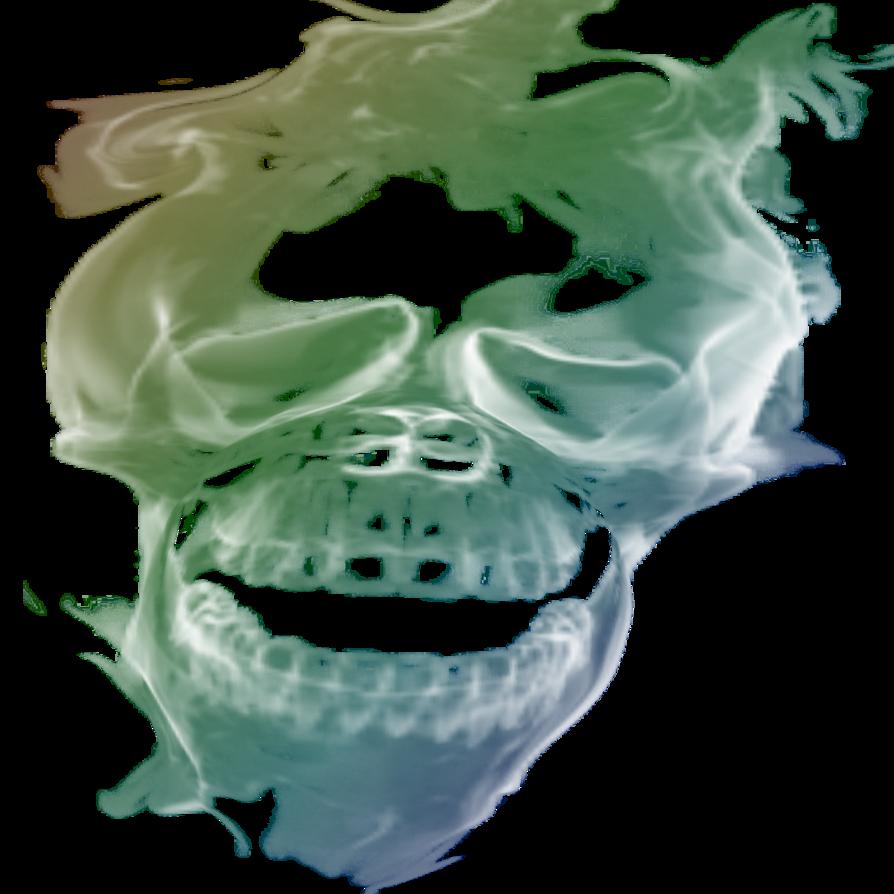 Transparant by cakkocem pic. Smoke skull png