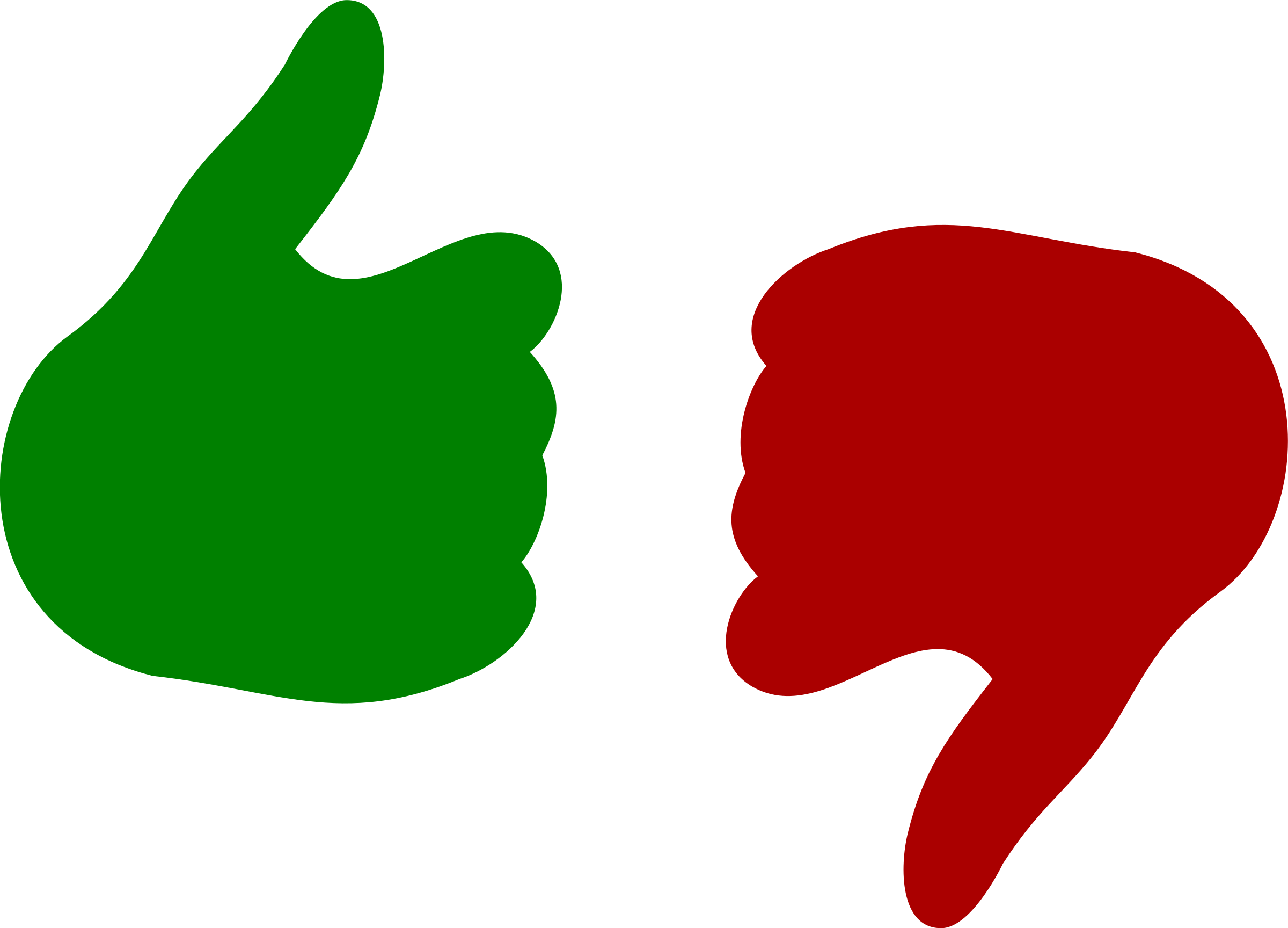 Thumb clipart customer review.  collection of red