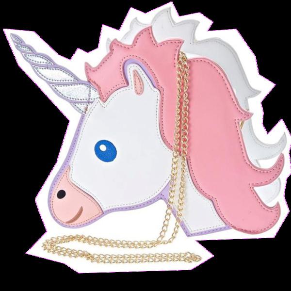 Emoji clipart unicorn. Purse bagmebaby