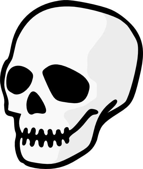 Clipart skull. Purzen clip art free