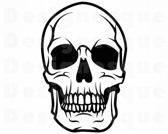 Svg cut files for. Clipart skull