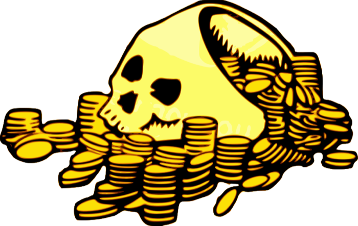 Chest pirate graphics golden. Treasure clipart chestclip art