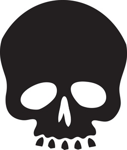 Free simple cliparts download. Clipart skull basic