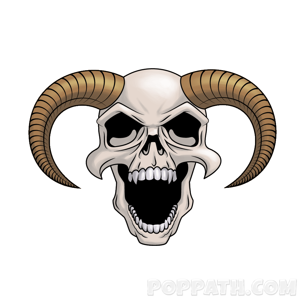 Clipart skull bighorn sheep, Clipart skull bighorn sheep ...