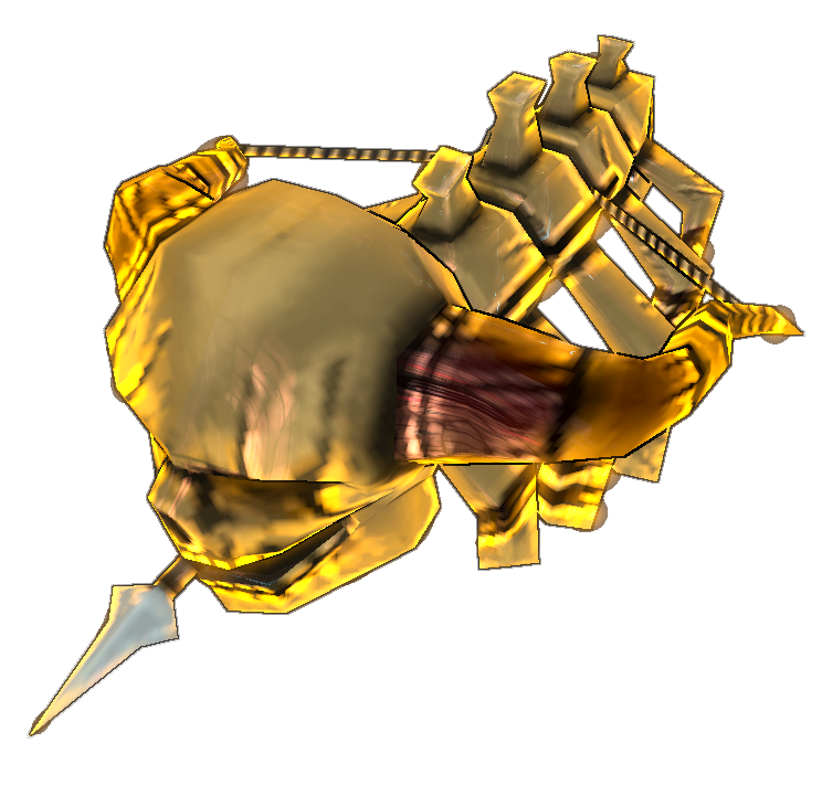 Skeleton clipart bow. Skull dungeon defenders wiki