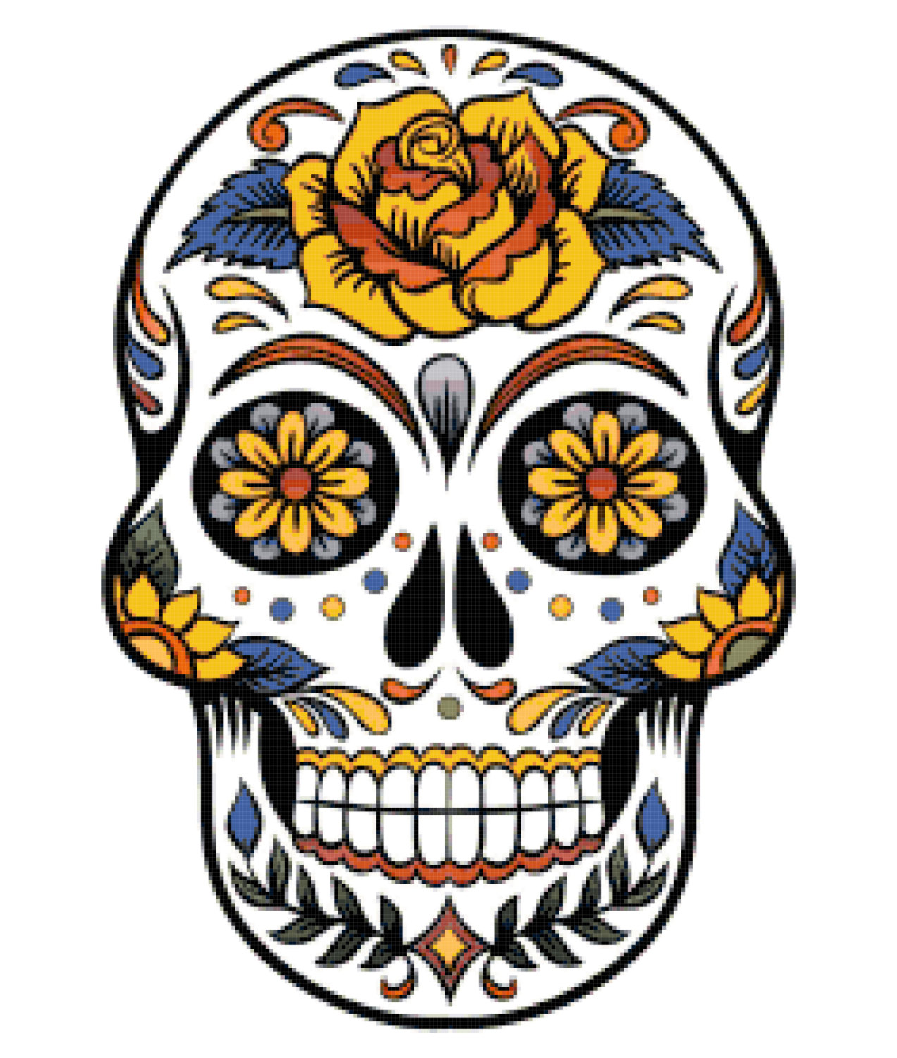 Skeleton clipart art mexican. Free skull cliparts download