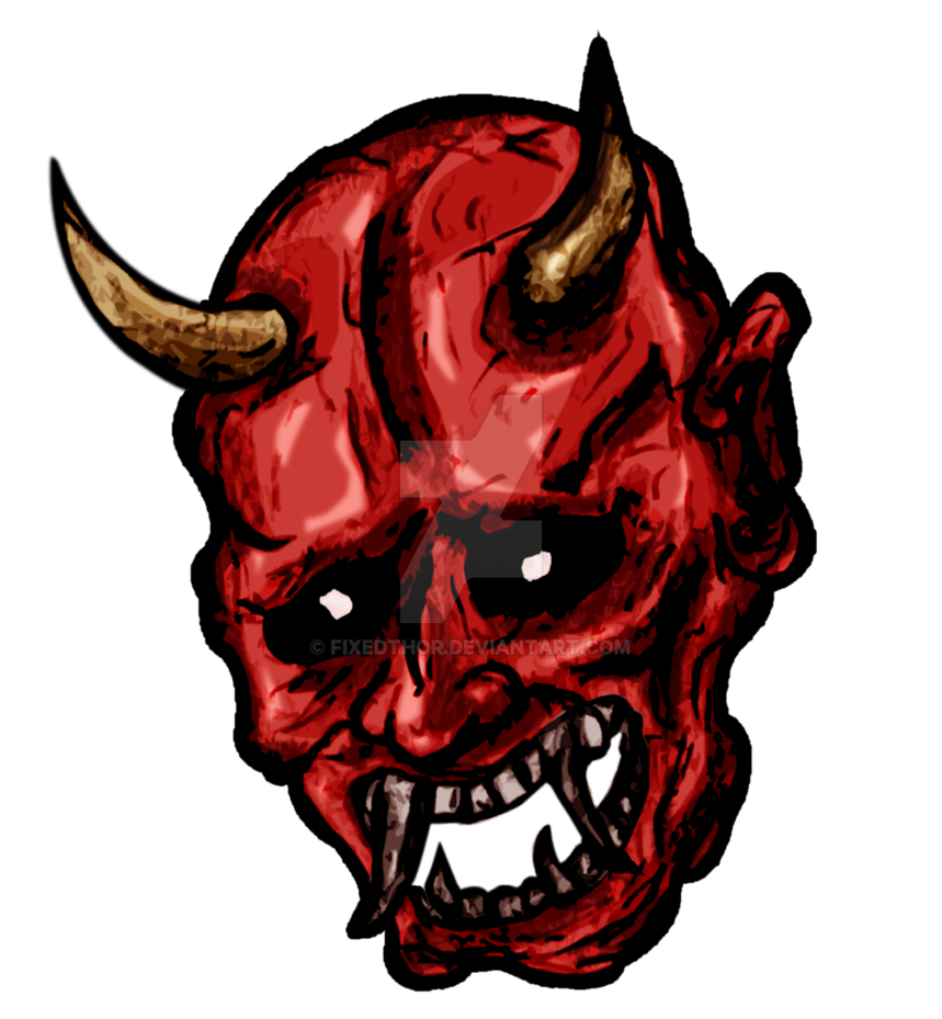 Demon legendary creature clip. Clipart skull demonic
