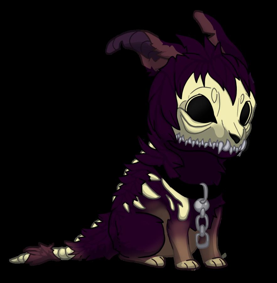 Clipart skull demonic. Cheeb dog weasyl